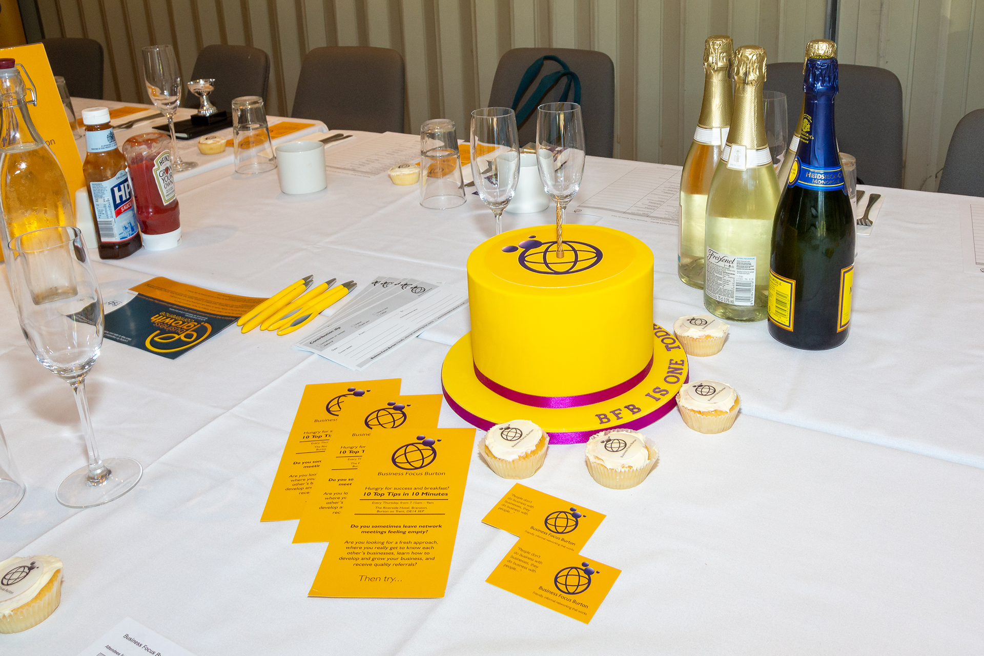 Business Focus Burton One year of Networking