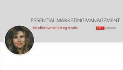 Essential Marketing Management