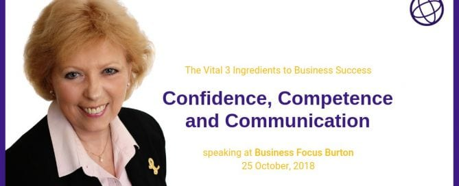 Lorna D Sheldon - Guest Speaker 25th October 2018 at the Burton and Derby Networking referral Group - Business Focus Burton